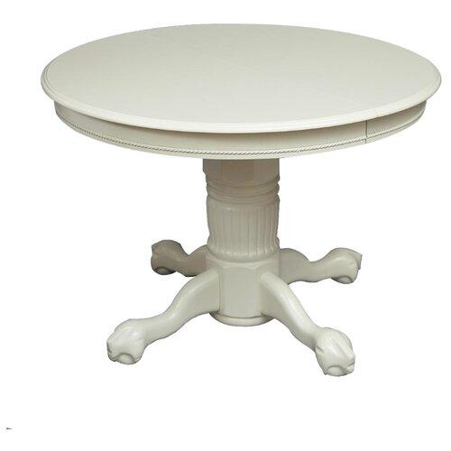 Стол кухонный TetChair Rochester STC (4260-STC), раскладной, длина в разложенном виде: 150 см, d: 106 см, слоновая кость