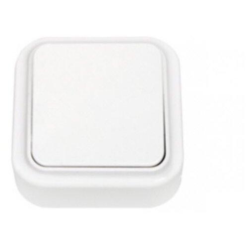Выключатель 1-полюсныйвыключатель / переключатель BYLECTRICA Пралеска А16-131,10А, белыйРозетки, выключатели и рамки<br>