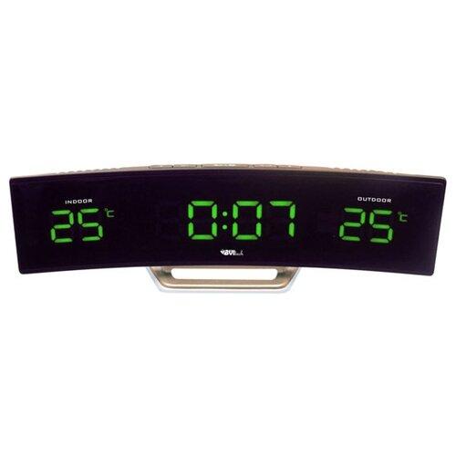 Метеостанция BVItech BV-415 золотистый / зеленый часы электронные bvitech bv 103b черный