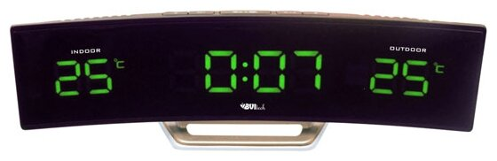 Часы BVItech BV-415GKS Green-Black