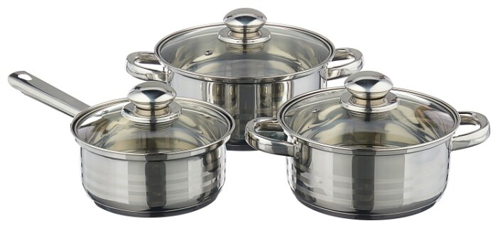Набор посуды Mallony PKS6-07 6 пр.