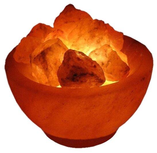 Солевая лампа Wonder Life Огненная Ваза