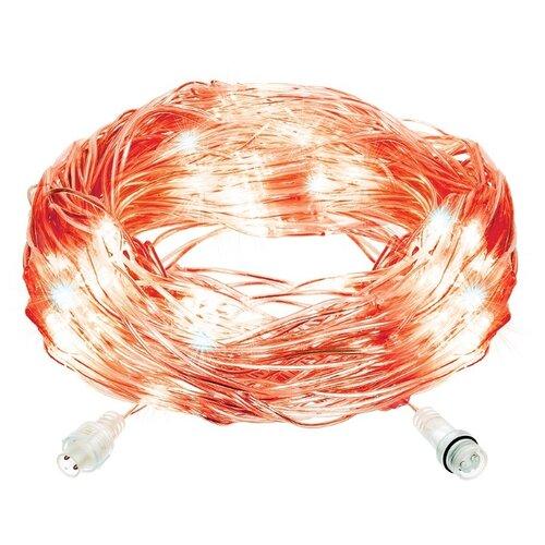Гирлянда Vegas Сеть световая 55030-34 (150 x 120 см), 144 ламп, красный/прозрачный провод недорого