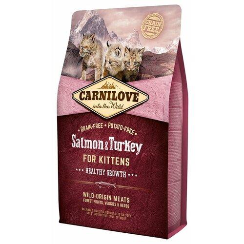 Сухой корм для кошек Carnilove Salmon & Turkey for kittens 6 кг 6 кг