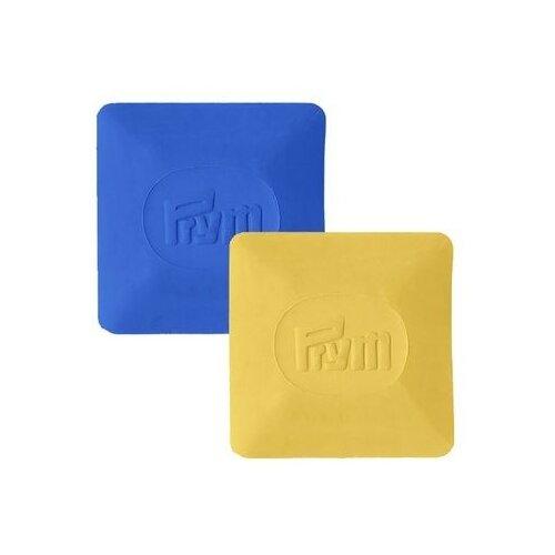 Купить Prym Портновский мел, диски 5 x 5 см, 2 шт. желтый/синий, Инструменты и аксессуары