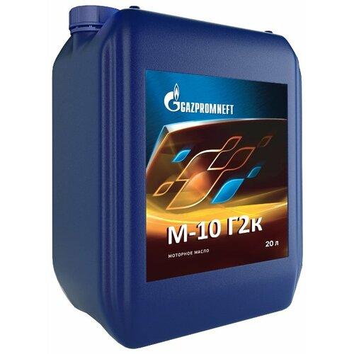Моторное масло Газпромнефть М-10Г2к 20 л газпромнефть красный 5кг