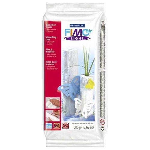 цена на Полимерная глина FIMO air Light самоотвердевающая белый 500 г (8132-0)