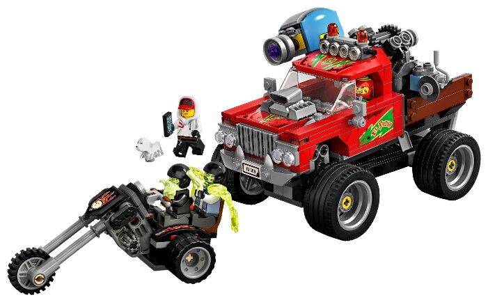 Конструктор LEGO Hidden Side 70421 Трюковый грузовик Эль-Фуэго