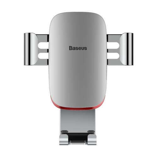 Держатель Baseus Metal Age Gravity Car Mount Air Outlet Version серебристый