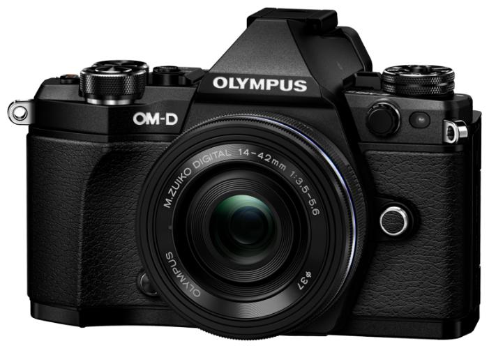 Фотоаппарат Olympus OM-D E-M5 Mark II Kit черный M.Zuiko Digital ED 14?42mm F3.5?5.6 EZ Pancake фото 1