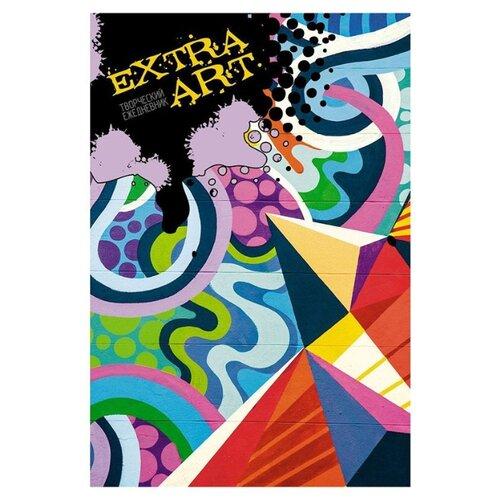 Блокнот Канц-Эксмо EXTRA ART. Граффити А5+, 128 листов (ЕЖТ18512818) канц эксмо ежедневник канц эксмо фантастические цветы а5 128 листов недатированный