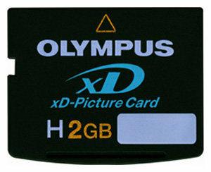 Карта памяти Olympus High Speed xD-Picture Card