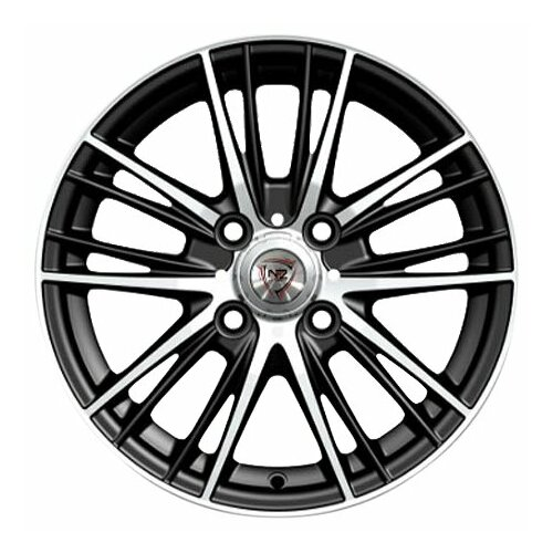 Фото - Колесный диск NZ Wheels F-33 6.5x16/5x114.3 D66.1 ET40 BKF колесный диск nz wheels f 44 8x18 5x114 3 d66 1 et40 bkf