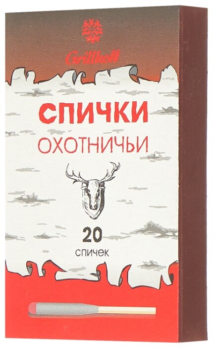 Grillkoff Спички охотничьи, 20 шт.