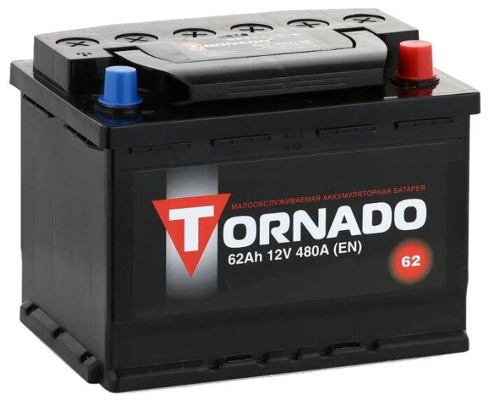 Аккумулятор Tornado 6СТ-62VL3R