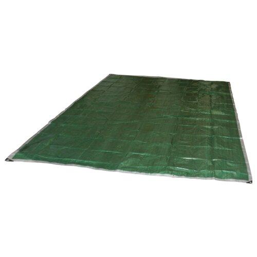 Тент ECOS хозяйственный универсальный T серебристый/зеленый 100 г/м2 3000х3000 мм 9 м2
