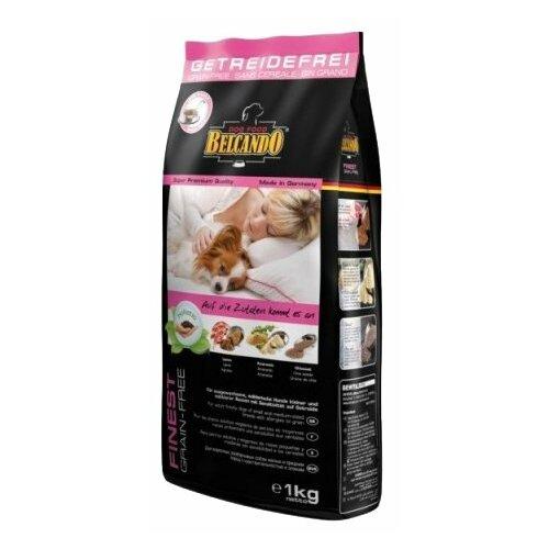 Корм для собак Belcando Finest GF Lamb для собак мелких и средних пород чувствительных к зерну (1 кг)