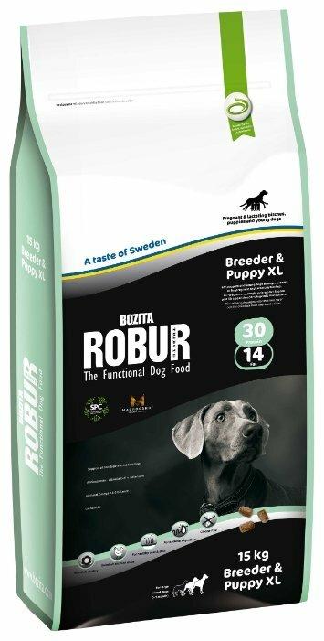 Корм для щенков Bozita Robur для здоровья кожи и шерсти 15 кг