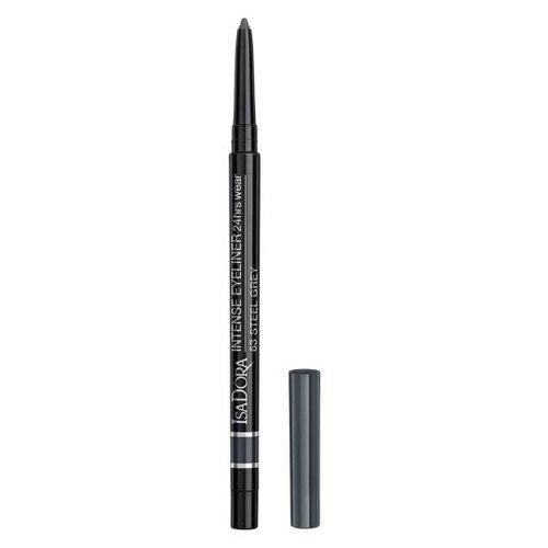 IsaDora Водостойкий карандаш для век Intense Eyeliner 24 Hrs Wear, оттенок 63 Steel Grey