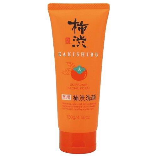 Фото - KUMANO пенка для умывания Kakishibu с экстрактами лекарственных трав и хурмы, 130 мл kumano cosmetics natural oil пенка для умывания с лошадиным маслом очищающая для жирной кожи 130 г