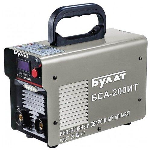 Сварочный аппарат Булат БСА-200ИТ (MMA) сварочный аппарат булат бса 190ит mma