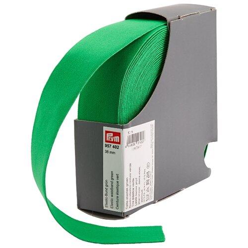 Купить Prym Эластичная лента-пояс (957402), зеленый 3.8 см х 10 м, Технические ленты и тесьма