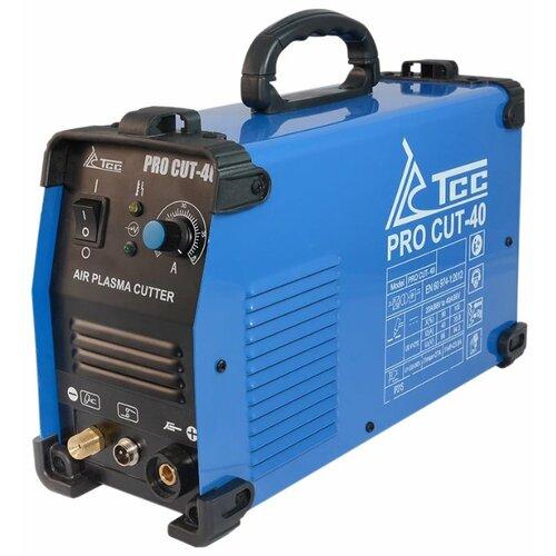 Фото - Инвертор для плазменной резки ТСС PRO CUT-40 инвертор для плазменной резки русэлком cut 30 10499