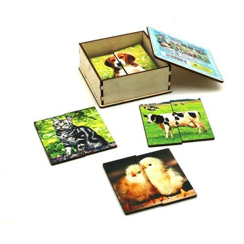 Купить Набор пазлов SmileDecor Домашние животные (А010), Пазлы