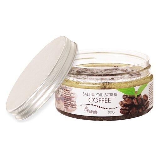 Ceano Cosmetics Масляно-соляной скраб для тела Coffee, 200 мл, 300 г ceano cosmetics кремер для ванн малина 40 г