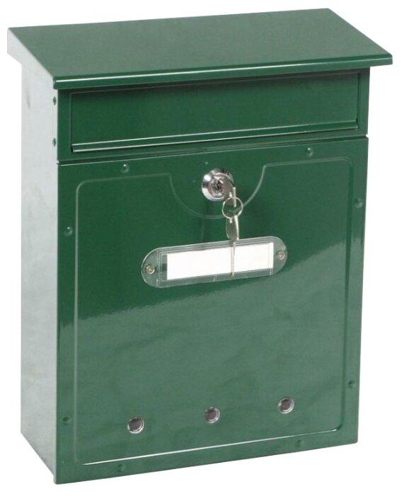 Почтовый ящик ПРОМЕТ LT-01 320 х 260 мм зеленый