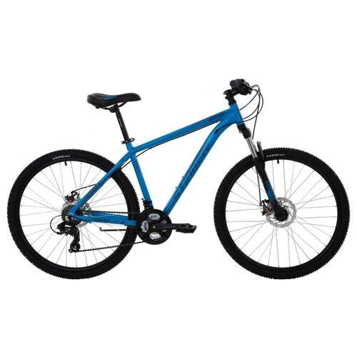 Горный (MTB) велосипед Stinger Element Evo 27.5 TZ500 (2020) синий 18 (требует финальной сборки) горный mtb велосипед format 1214 29 2020 темно синий m требует финальной сборки