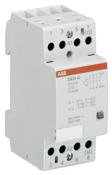 Модульный контактор ABB GHE3291702R1004 24А