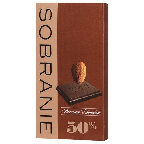 шоколад sobranie горький с апельсином и орехами 72% какао 90 г Шоколад SOBRANIE темный с орехами, 90 г
