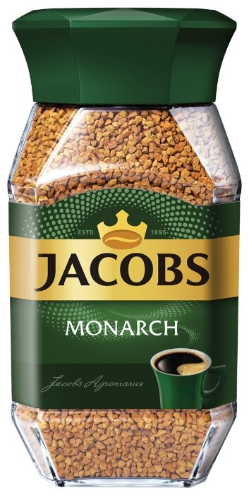 Кофе якобс монарх 47,5гр. стекло