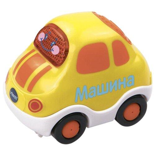 Купить Машинка VTech Бип-Бип Toot-Toot Drivers (80-119426) 8 см желтый, Машинки и техника