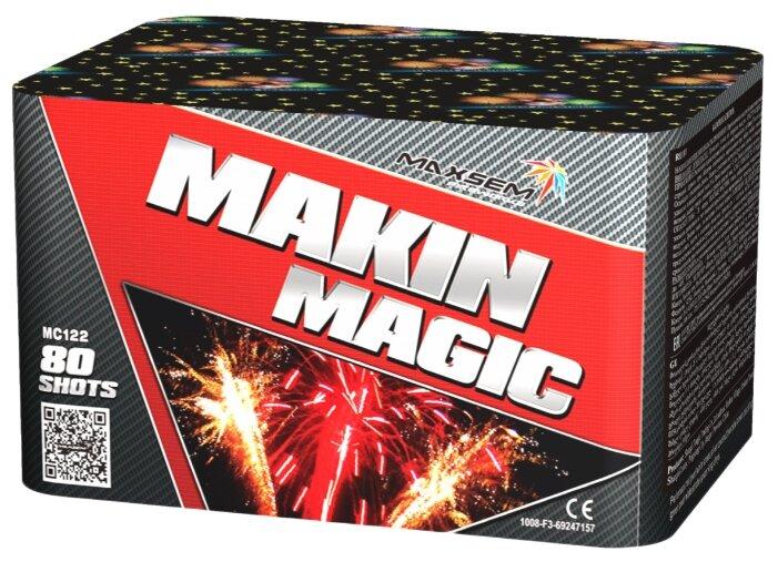 Maxsem Фейерверк Makin magic на 80 выстрелов