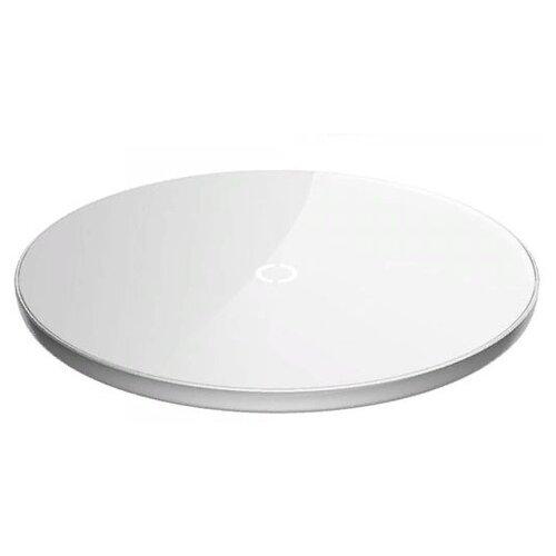 Фото - Беспроводная сетевая зарядка Baseus Simple Wireless Charger, белый беспроводная сетевая зарядка baseus whirlwind desktop wireless charger черный