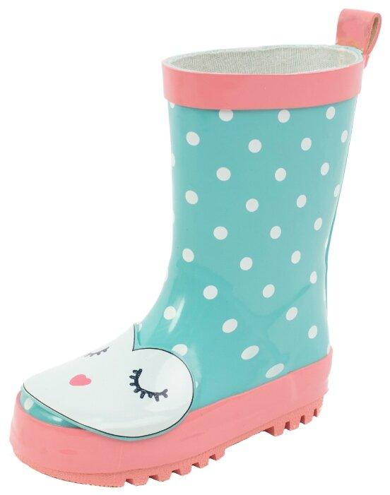 Сапоги playToday размер 21, светло-розовый/голубой/белый