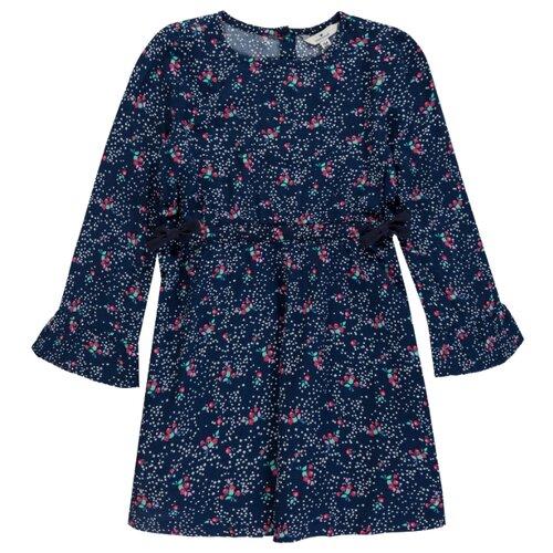 Платье Tom Tailor размер 116/122, темно-синий фото