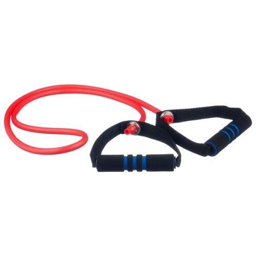 Эспандер универсальный Indigo для степа Latex Medium (00020555) 130 см красный/черный