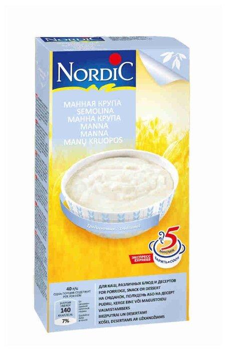 Nordic Крупа Манная 550 г