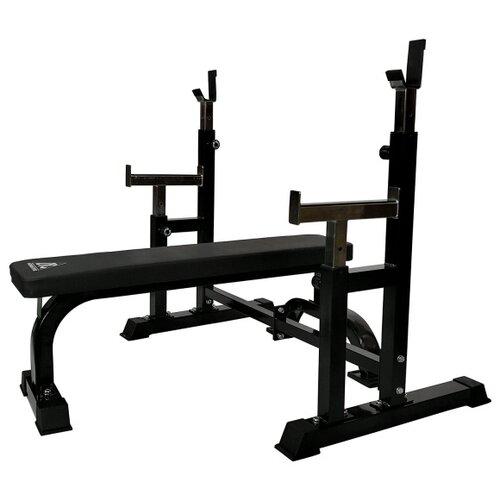 Комплект DFC скамья и стойка DZ005FBB черный комплект dfc d7828 черный