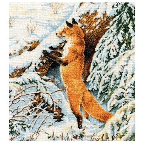 Купить Овен Набор для вышивания Рыжая охотница 27 х 31 см (975), Наборы для вышивания