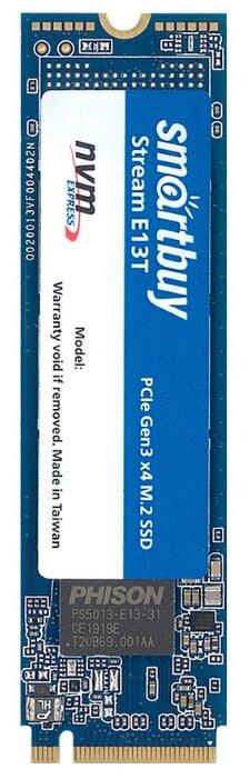 Твердотельный накопитель SmartBuy 128 GB (Stream E13T 128 GB (SBSSD-128GT-PH13T-M2P4)) — купить по выгодной цене на Яндекс.Маркете