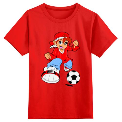 Футболка Printio размер 4XS, красный, Футболки и майки  - купить со скидкой