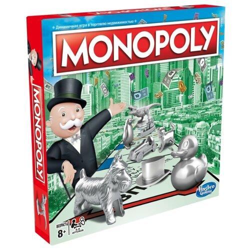 Купить Настольная игра Hasbro Игры Monopoly Классическая Обновленная C1009, Настольные игры