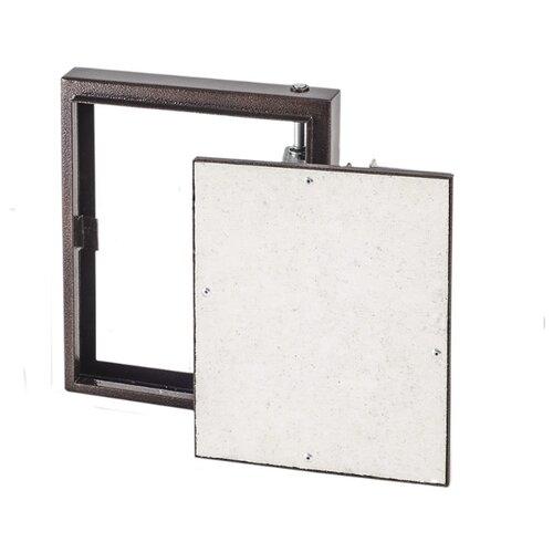 Фото - Ревизионный люк D2040 CERAMO STEEL настенный под плитку EVECS коричневый ревизионный люк d2040 ceramo настенный под плитку evecs серебристый