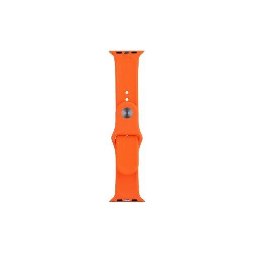 Фото - EVA Ремешок спортивный для Apple Watch 42/44mm оранжевый eva ремешок спортивный для apple watch 42 44mm розовый