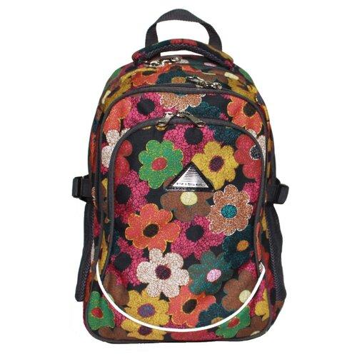RISE Рюкзак м-330-тц, темные цветы