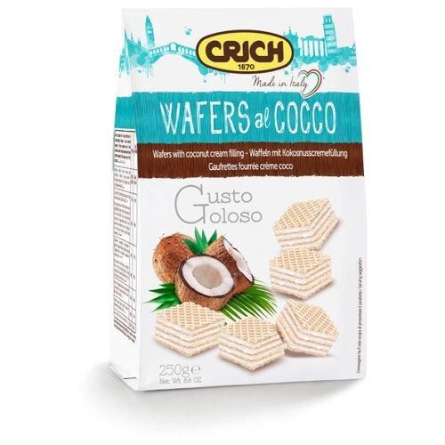 Вафли Crich с кокосово-кремовой начинкой 250 г